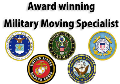 Award winning Military Moving Specialist